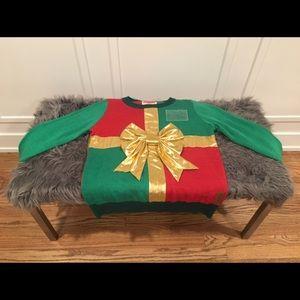 Women's Christmas Present Ugly Christmas Sweater